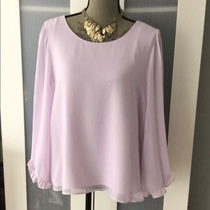 1 State Light Pink Blouse